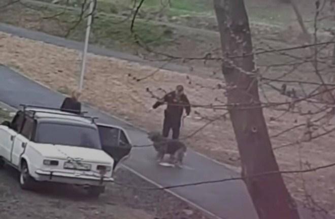 Инцидент произошел в одном из микрорайонов Мукачево на улице Окружной, 34.