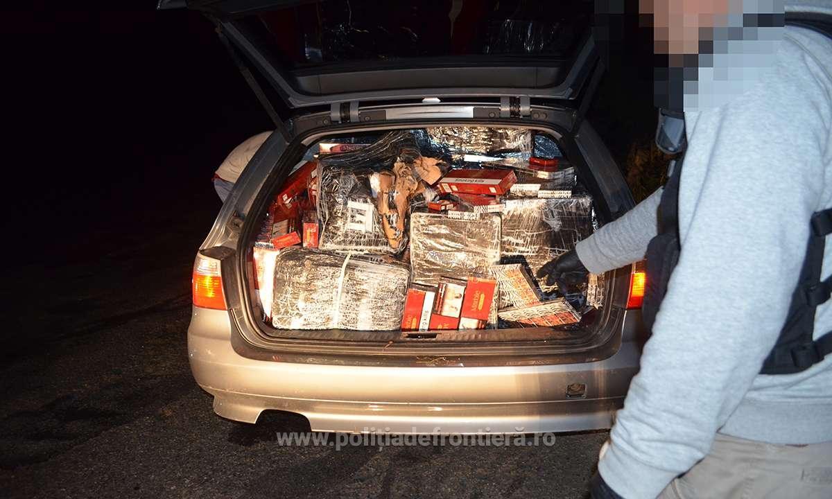 Попереджувальні постріли в повітря змушені були зробити румунські прикордонники, щоб зупинити контрабандиста з України.
