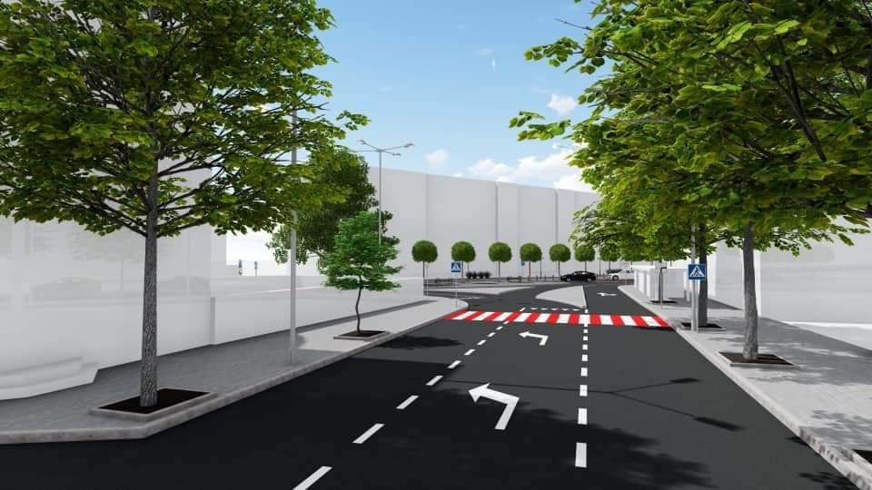 ММКП «Мукачевопроект» презентує кінцевий варіант ескізного проекту реконструкції пл. Вокзальна у м. Мукачево.