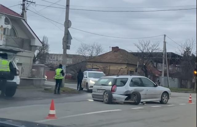 Дорожньо-транспортна пригода трапилася по вулиці Гагаріна.