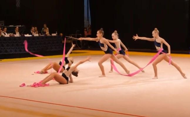 На тиждень обласний центр Закарпаття став столицею змагань з художньої гімнастики.