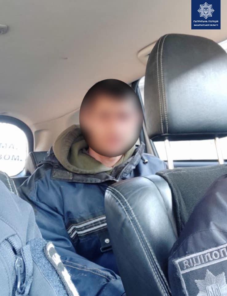 Чоловіка, який перебував у розшуку через ухиляння від кримінальної відповідальності, затримали патрульні поліцейські 16 лютого.