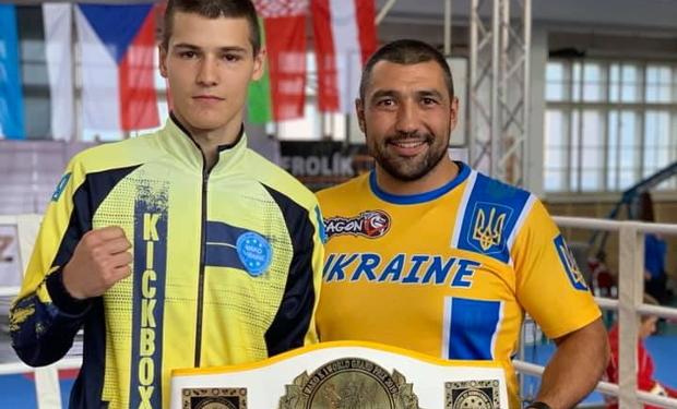 Ужгородець Іван Пригара став переможцем світового Гран Прі 2019 з кікбоксингу WAKO.