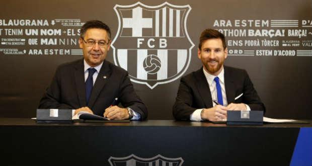 Мессі продовжив контракт з«Барселоною» зсумою відступних у700 млн євро