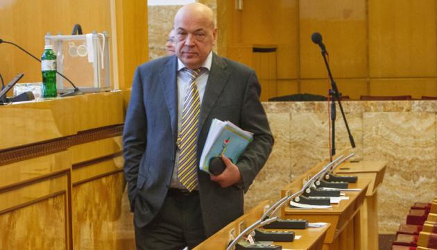 Колишній голова Закарпатської ОДА Геннадій Москаль на луганській