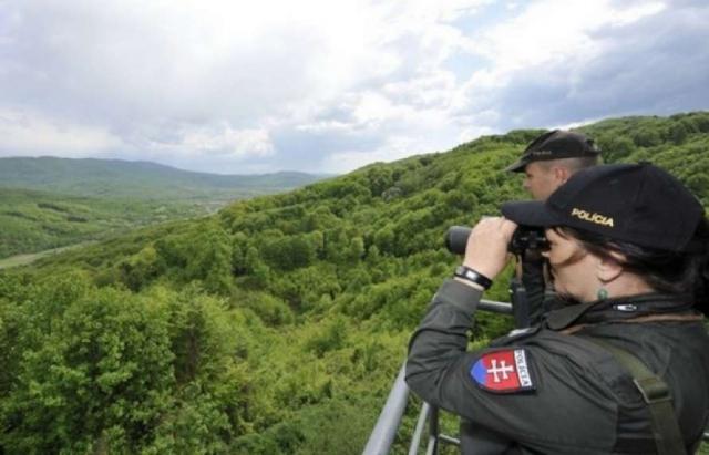 За останні дні словацькі прикордонні поліцейські затримали сім іноземців у районі Сніна.