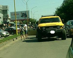 """В Ужгороді сталася ДТП в """"Новому районі"""" (ФОТО)"""