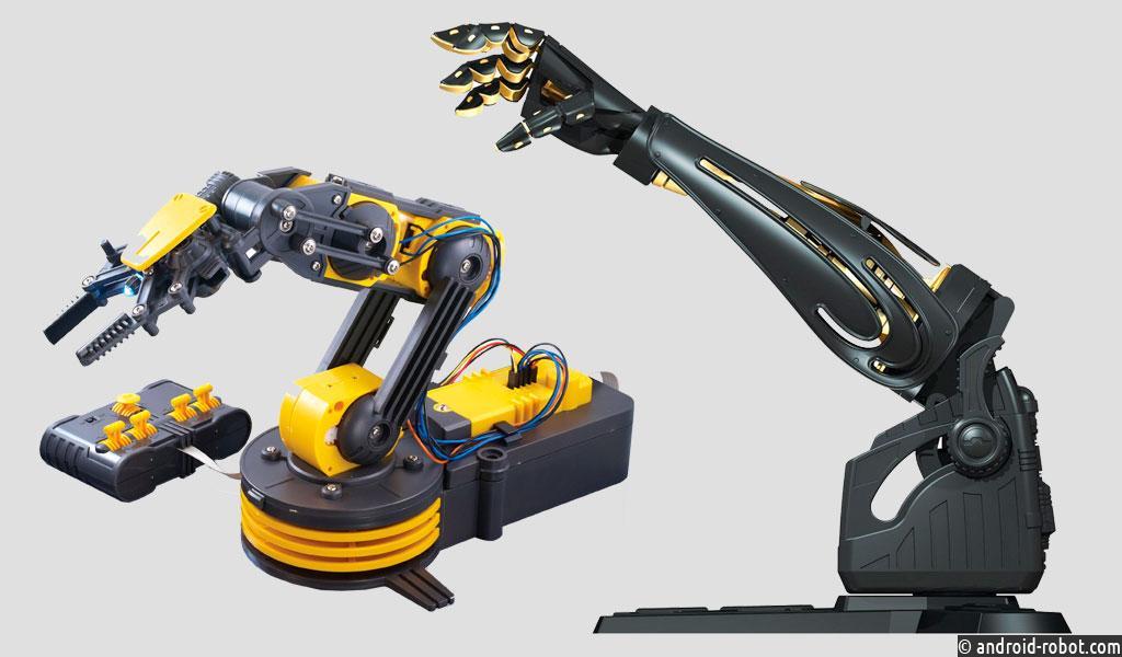 Дослідники з Шербрукського університету в Канаді виготовили роборуку з гідравлічним двигуном, яка може збирати предмети, подавати інструменти, грати в бадмінтон і здатна пробити стіну з гіпсокартону.