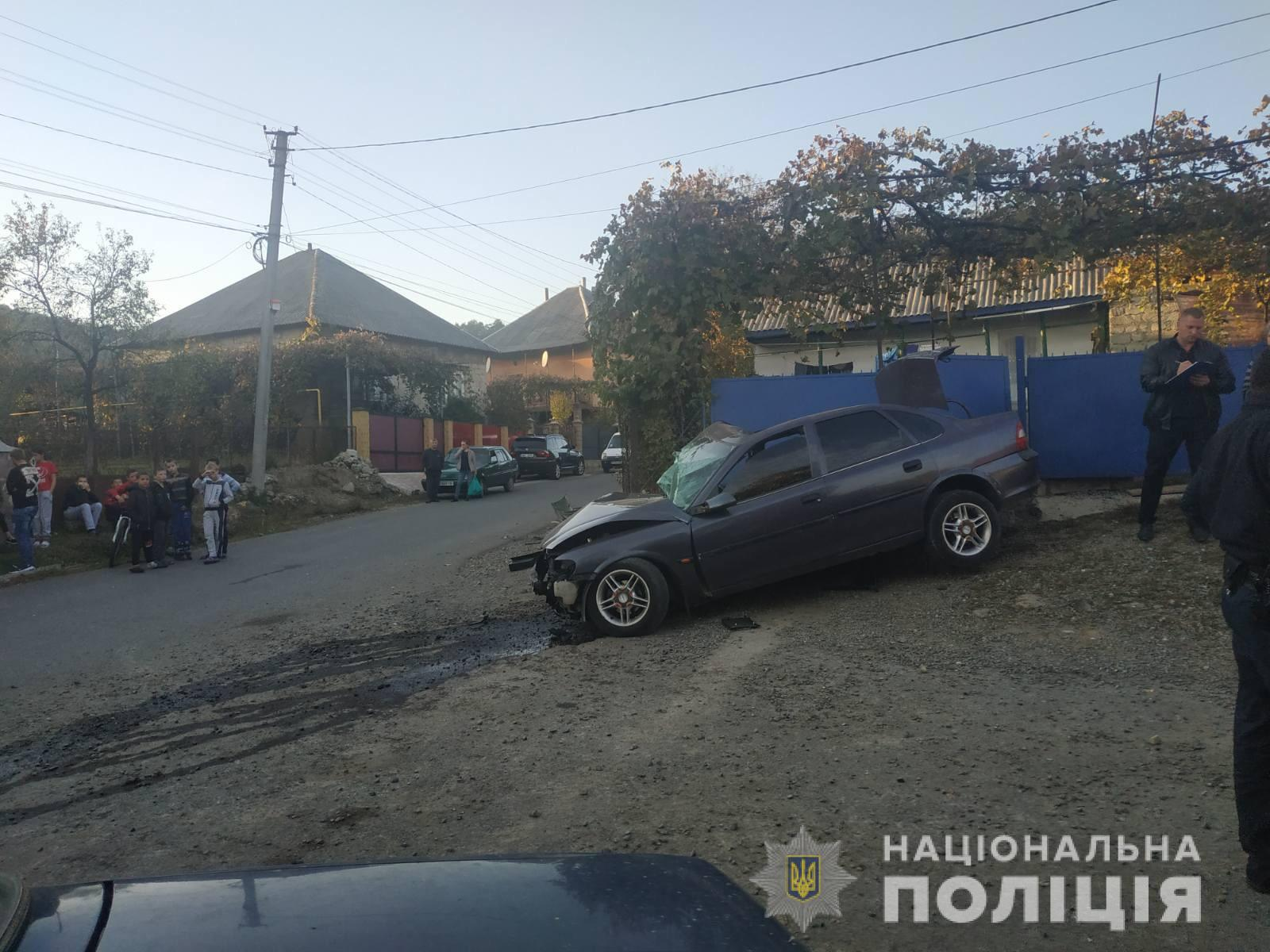 Уселі Рокосово Хустського району сталася аварія з потерпілими.