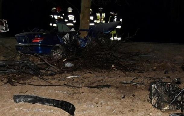 Легковик на повороті злетів з дороги і врізався в дерево - загинули 24-річний пасажир та 22-річний водій.