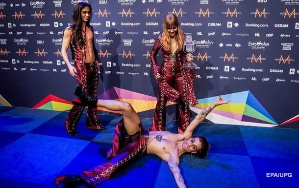 Італійський гурт Måneskin посів перше місце на пісенному конкурсі, отримавши 524 бали.