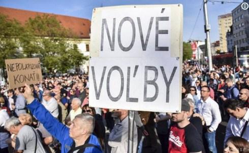 У Словаччині через вбивство журналіста люди вимагають дострокових виборів