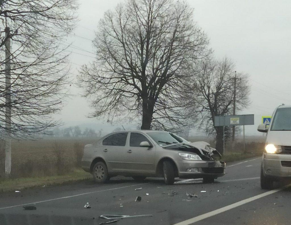 У Мукачівському районі чергова аварія.