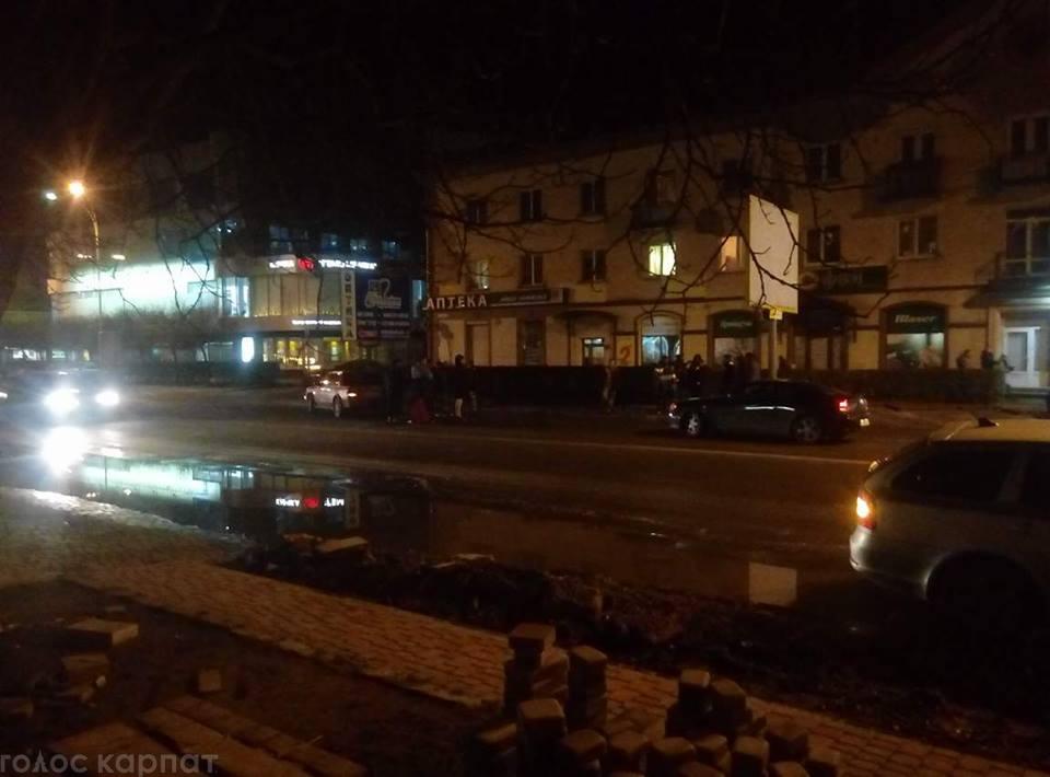 ДТП в Ужгороді на проспекті Свободи: за кермом одного з автомобілів був студент-іноземець