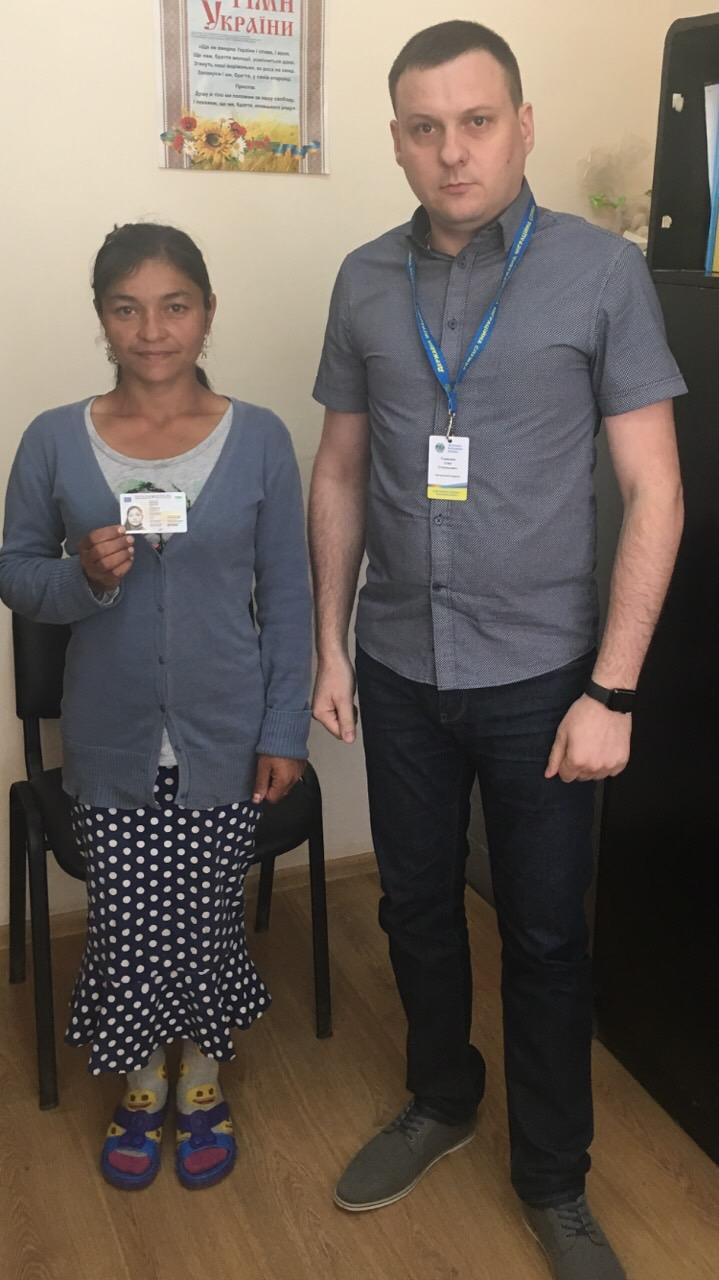 Ужгородка, яка має 13-річну дитину, вперше отримала паспорт у 32 роки