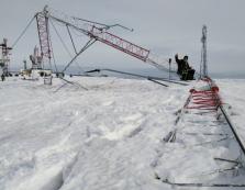 60-метрова металева вежа впала на Боржавському хребті