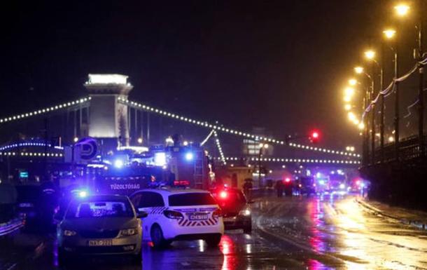 На річці Дунай в угорській столиці затонуло прогулянкове судно з 34 людьми на борту, загинули семеро людей.