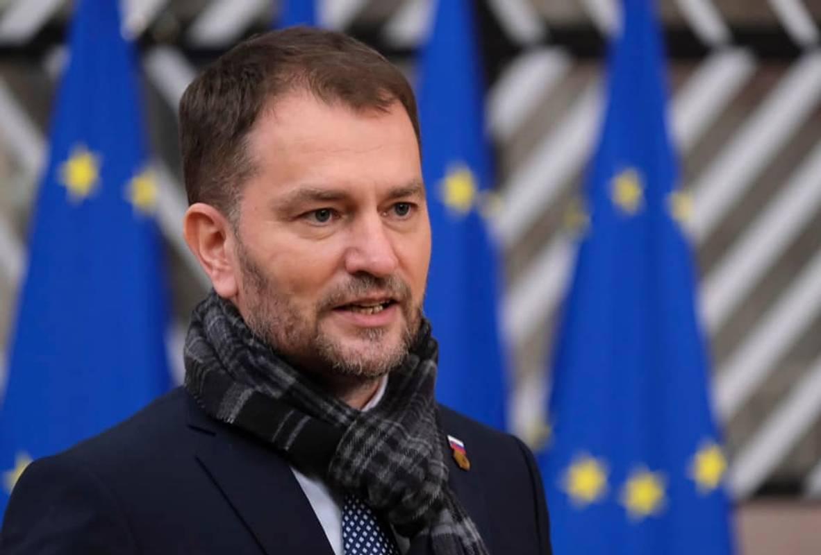 Прем'єр-міністр Словаччини Ігор Матович вибачився за свій невдалий жарт про