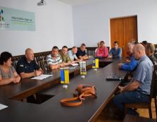В Рахівській РДА відбулася позапланова комісія з питань надзвичайних ситуацій (ФОТО)