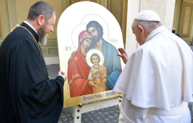 На аудієнції з Папою Римським у Ватикані 16 червня прибула делегація з Мукачівської греко-католицької єпархії побувала на загальній.