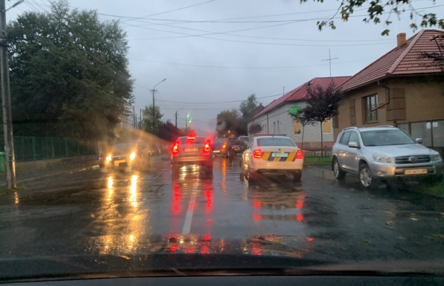 Автопригода трапилася вчора, 13 жовтня близько 18:00 у Мукачеві на вулиці Івана Франка.
