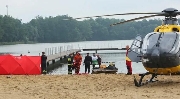 Трагедія трапилася на озері Шперек Велькопольського воєводства куди батьки хлопчика ще з однією сім'єю поїхали на відпочинок.