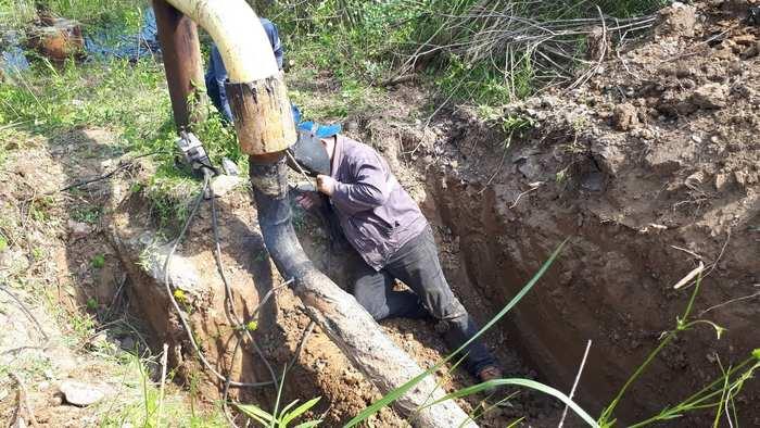 Витік на підземному газопроводі виявили та ліквідували працівники АТ «Закарпатгаз» у селі Боржава Берегівського району.