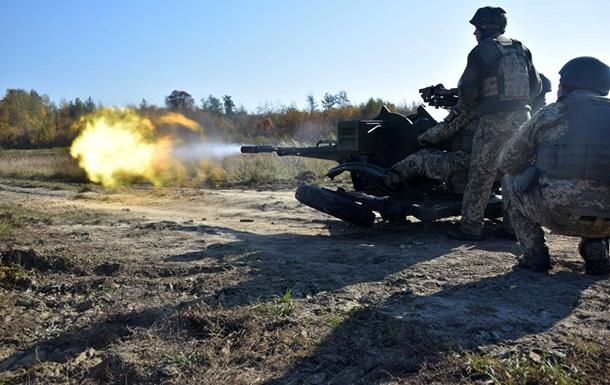 Сепаратисти 24 рази порушили режим припинення вогню. У результаті загинув український військовий, троє отримали поранення.