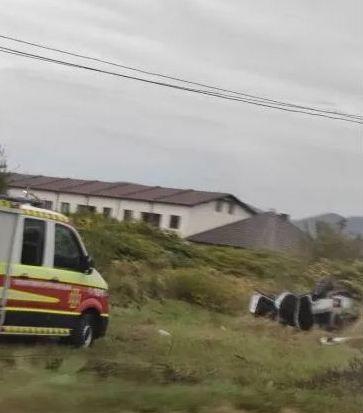 Сьогодні вранці, 6 жовтня, у Мукачівському районі сталась аварія. ДТП трапилась у селі Ключарки, що поблизу Мукачева.