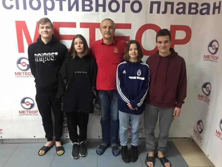 """Закарпатка виборола """"срібло"""" на Чемпіонаті України з плавання у Дніпрі."""