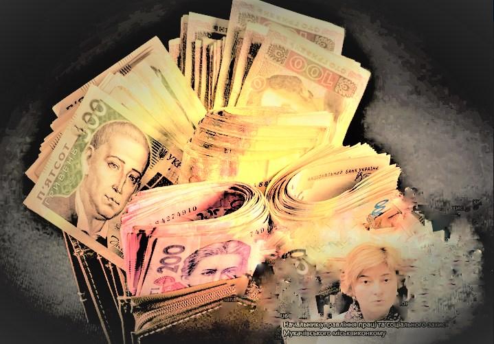 77 тисяч 922 гривні - таку суму склали зарплатня, матдопомога та відпускні очільниці Управління праці та соцзахисту у Мукачеві за травень 2020 року.