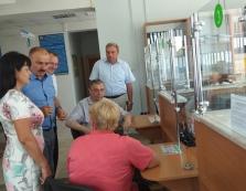 У Великому Березному запрацював сучасний центр обслуговування пенсіонерів