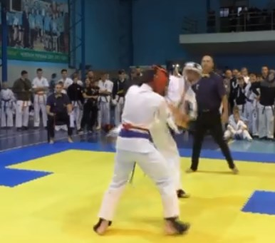 480 спортсменів з різних областей приїхали на Всеукраїнський турнір із кіокушинкай карате в Ужгороді.