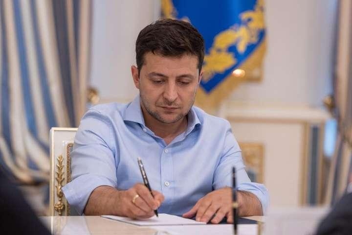 Президент Володимир Зеленський підписав відповідний закон.