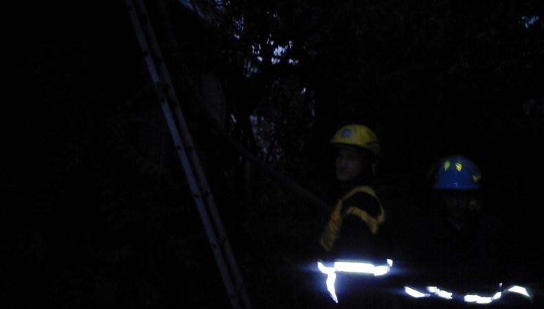 У Виноградові сталася пожежа на території дитсадка
