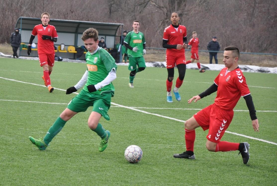 У суботу, 29 лютого, у Середньому відбувся матч-відповідь чвертьфіналу Зимового кубку ДЮФЛ України.