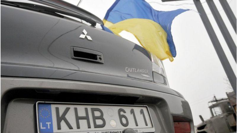 Депутати проголосували за зміни, які мають ще більше спростити та зробити дешевшою реєстрацію авто на іноземних номерах - так званих євроблях.