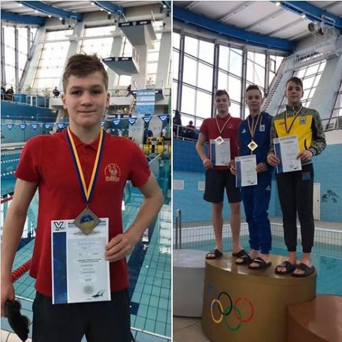 7 лютого плавець ужгородського клубу плавання Голямінський Андрій виборов срібло  на Чемпіонаті України з плавання у Харкові.