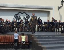 В Ужгороді виступив Військово-музичний центр Сухопутних військ ЗСУ