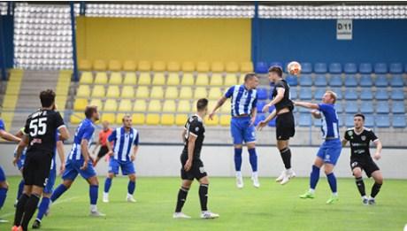 Закарпатці на стадіоні в містечку Мезекевешд зіграли у результативну нічию із 6-ою командою Угорщини - 3:3.