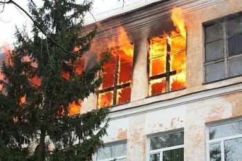 На Виноградівщині сталася пожежа в школі