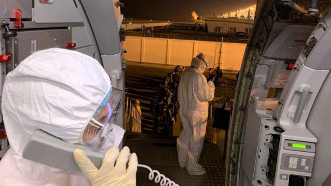 Літак авіакомпанії SkyUp 20 лютого має привезти з Китаю біля ста українців та іноземців.