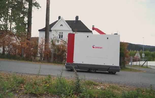 Роботи будуть розносити пошту по домівках в Норвегії