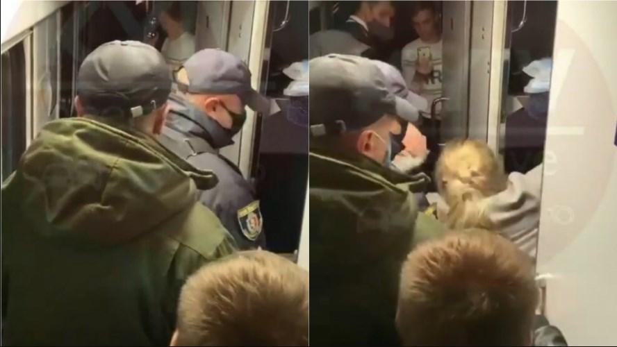 Інцидент трапився у ніч на 19 жовтня у потязі, який прямував зі Львова до Києва.