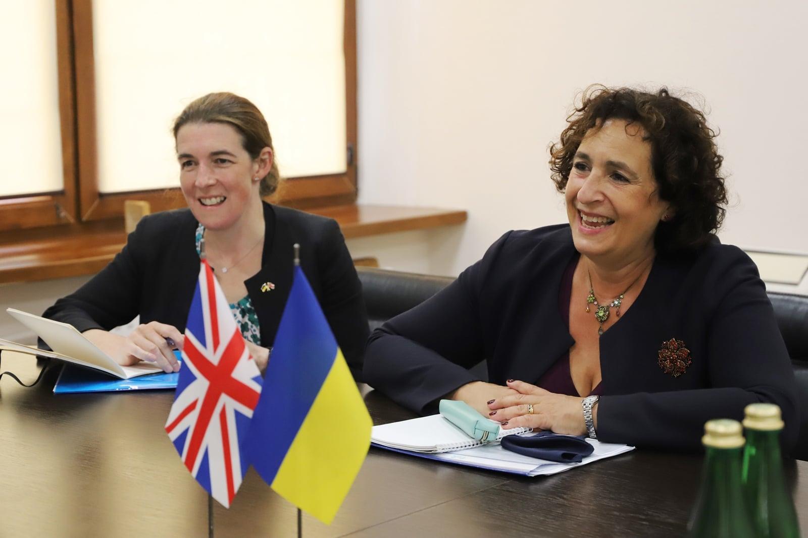 Посол Великої Британії в Україні пані Мелінда Сіммонс із робочим візитом перебуває на Закарпатті.