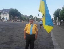 Палкий шанувальник України з французького Люрду (ВІДЕО)