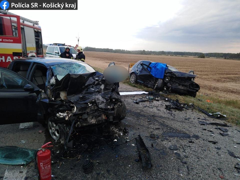 Аварія сталася в районі міста Кошице.