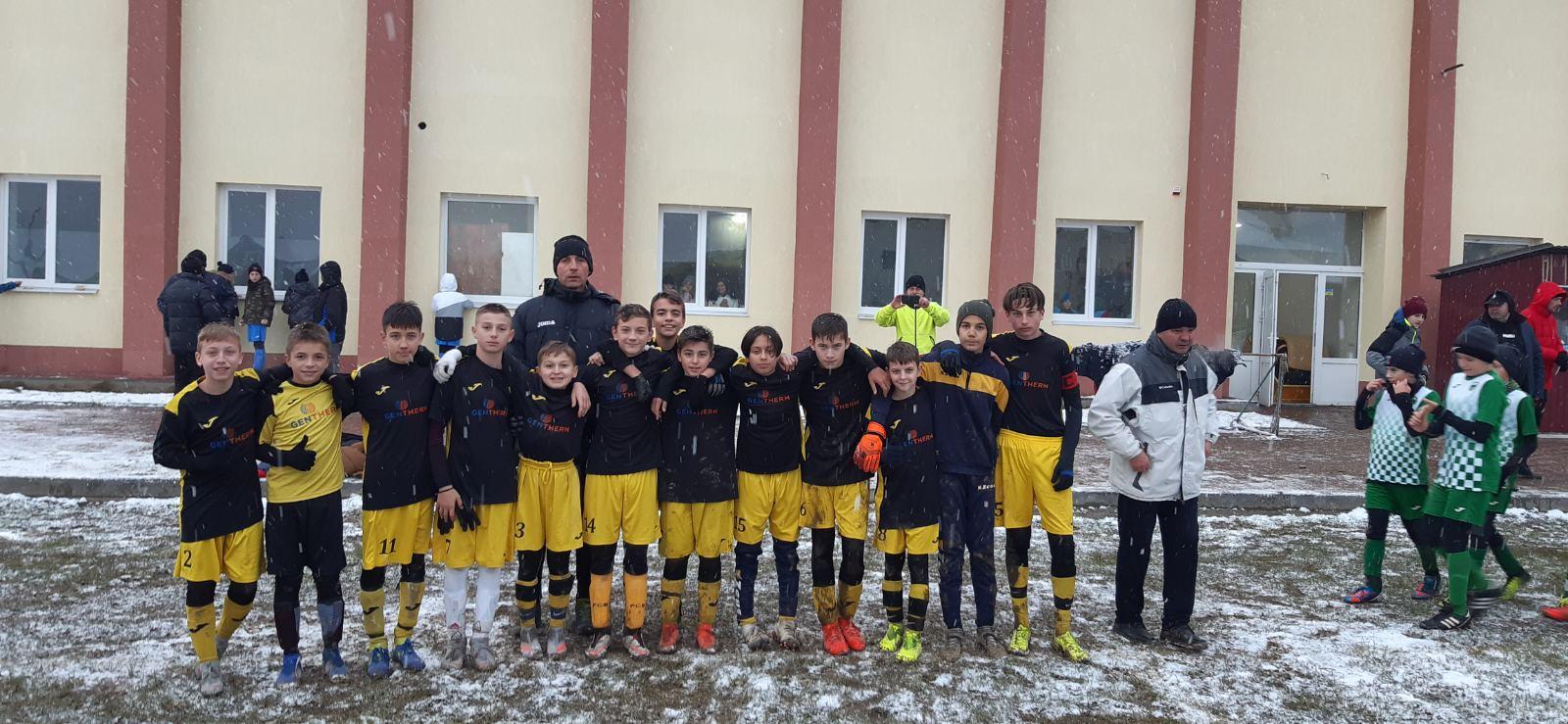 Юні гравці з Виноградова стали кращими серед восьми команд 2007-2008 року народження.