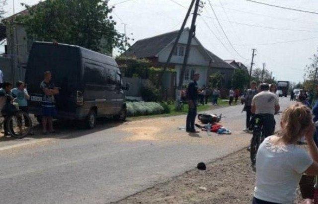 Автопригода сталася вчора, 15 травня, в селі Чорнотисів Виноградівського району.