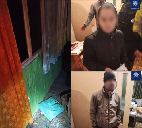 Патрульні затримали ужгородців за незаконне проникнення у чужий будинок.